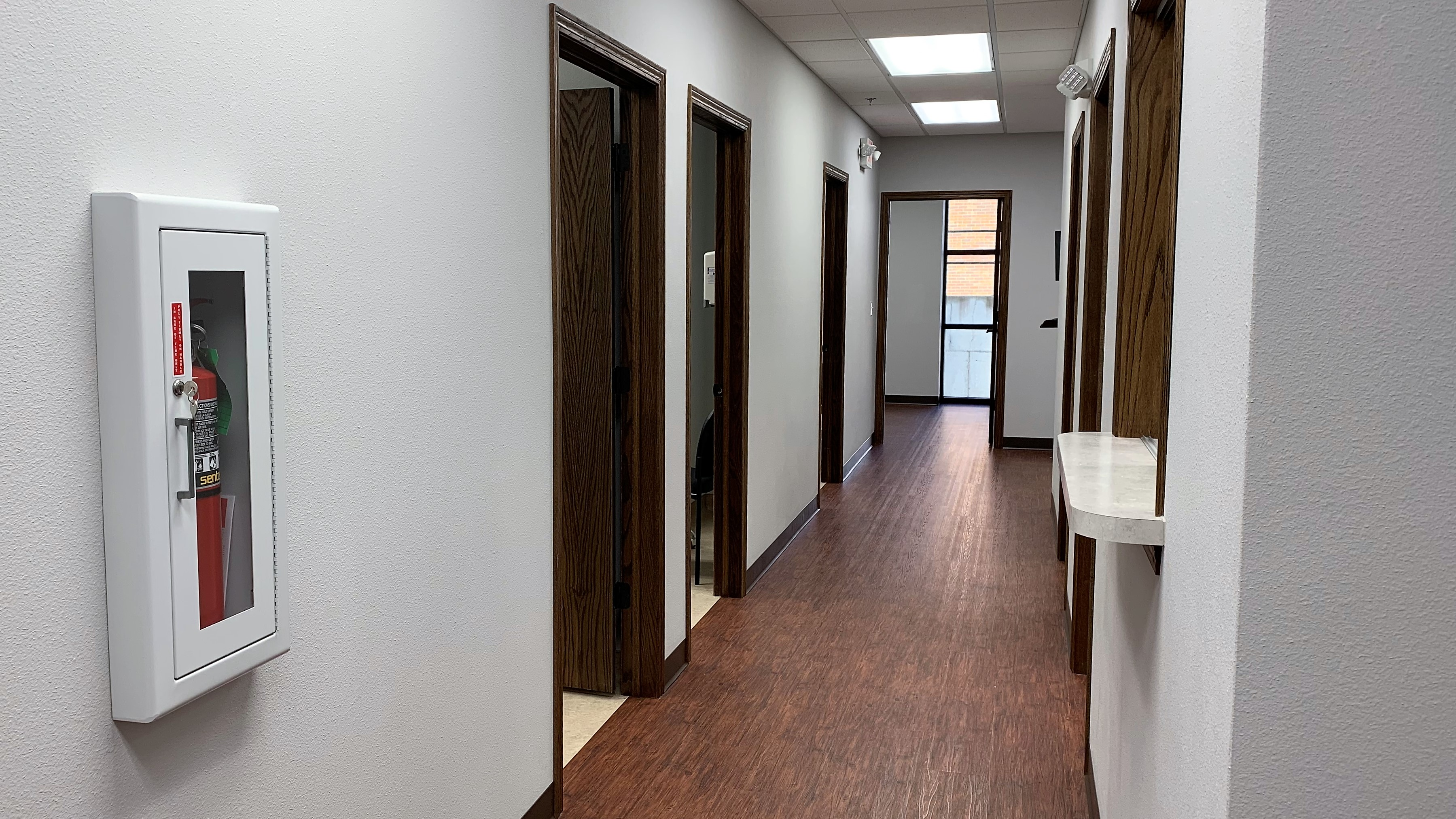 Hallway at Shoal Creek Foot & Ankle Center