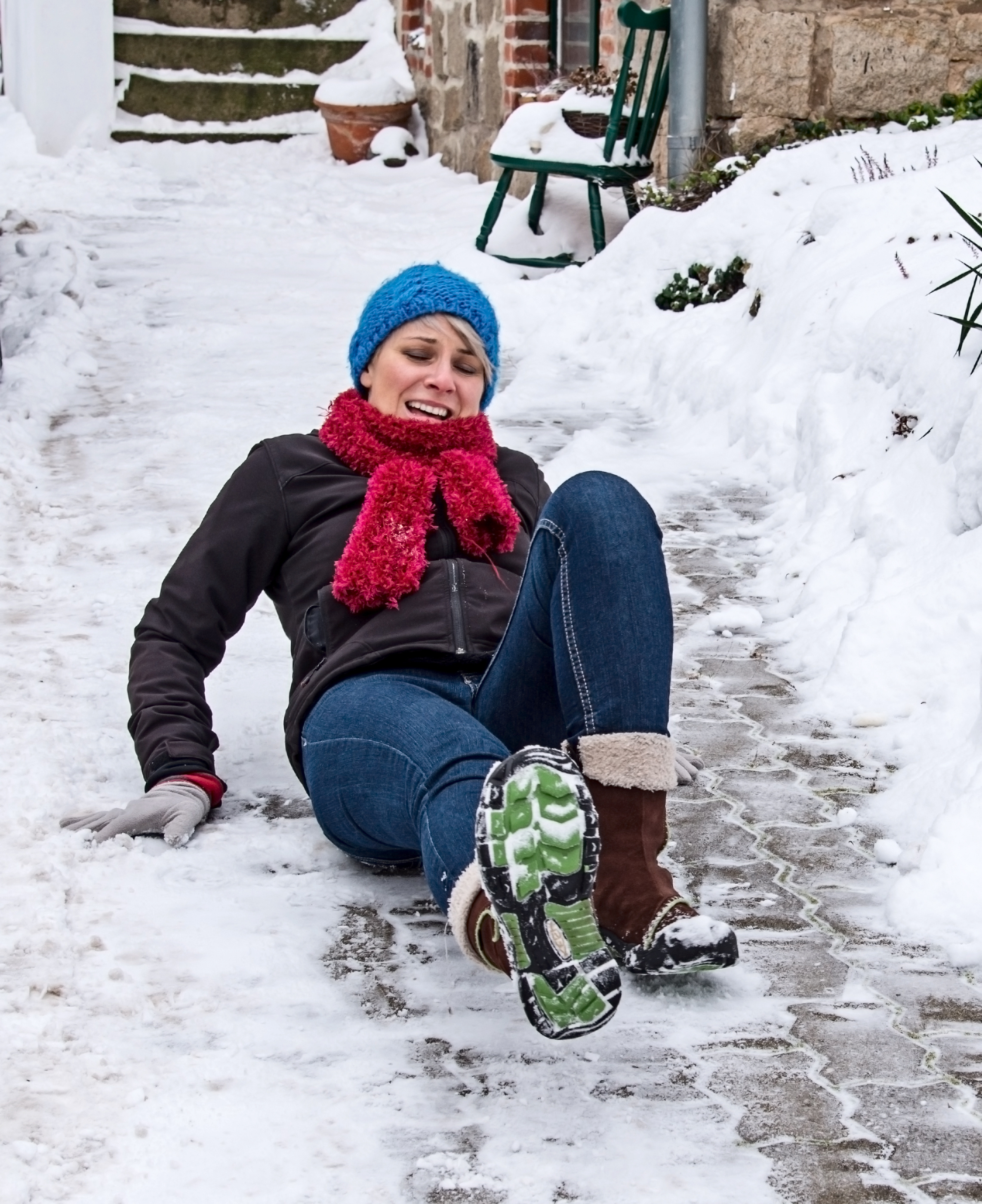 Falls on icy surfaces are a major cause of ankle sprains and fractures. It's critical to seek prompt treatment to prevent further damage that can prolong recovery.