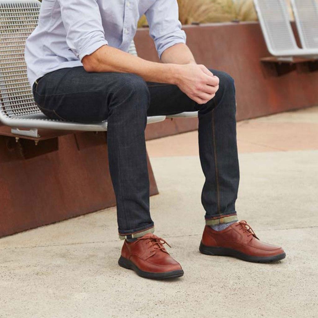 Photograph of men's Anodyne diabetic shoes