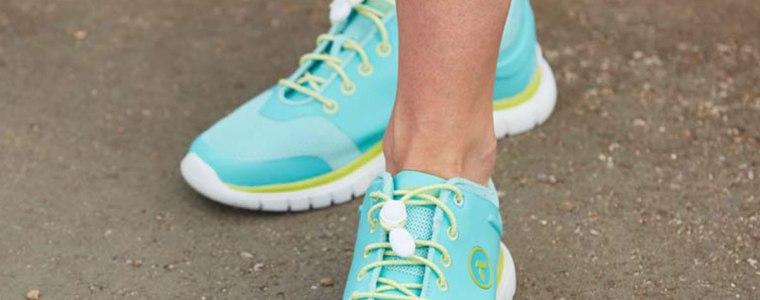 Photograph of women's Anodyne diabetic shoes